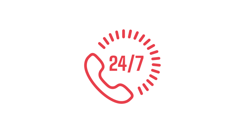 telefon zaufania dla dzieci i młodzieży działa 24 godziny na dobę, 7 dni w tygodniu
