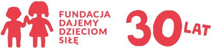 Logo fundacji Dajemy Dzieciom Siłę